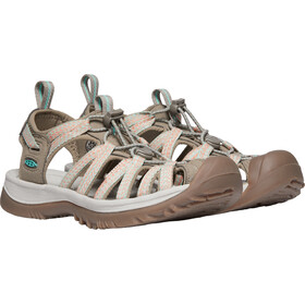 Keen Whisper Sandalias Mujer, taupe/coral